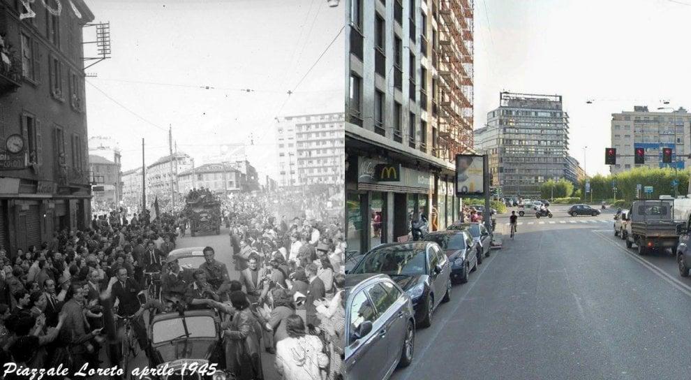 Milano com'era, Milano com'è: piazzale Loreto