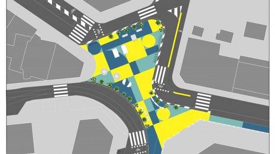 Urbanistica tattica a Milano, un'altra piazza rivoluzionata: stavolta tocca a Nolo