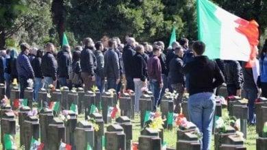 Saluti romani al cimitero Maggiore, la procura ricorre contro le assoluzioni