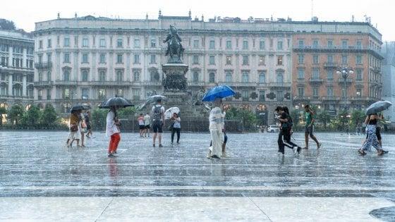 Maltempo in Lombardia, pioggia e temperature in discesa: monitorati Seveso e Lambro