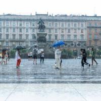 Maltempo in Lombardia, pioggia e temperature in discesa: monitorati Seveso