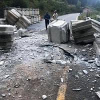 Frana Ruinon, prime misure di emergenza per Santa Caterina Valfurva semi-isolata