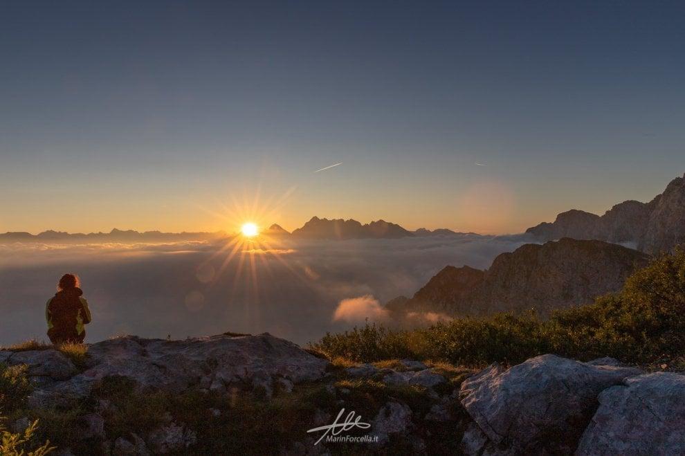 La grande bellezza della Presolana: le montagne viste dal Rifugio Albani