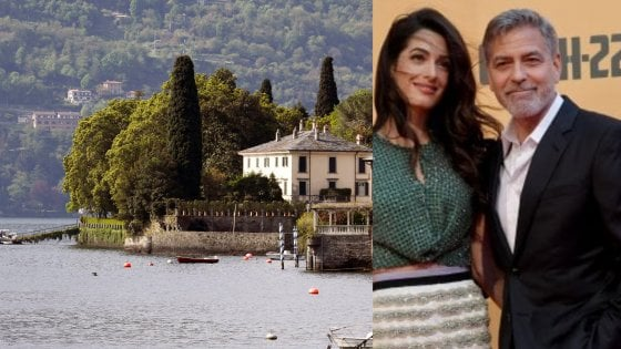 """""""George, non tradirci"""": voci di un trasloco sull'altro ramo del lago di Como, l'appello a Clooney del sindaco"""