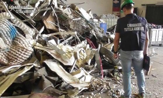 Brianza, scoperta e sequestrata una discarica abusiva di rifiuti speciali