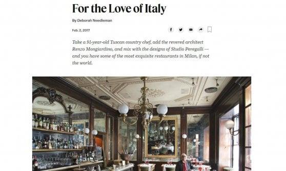 È morto Giacomo Bulleri, simbolo della ristorazione italiana nel mondo