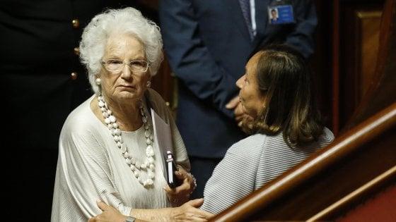 Liliana Segre, compie 89 anni la testimone della Shoah. Compleanno in Senato per la fiducia al Conte Bis