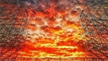 Il tramonto è un effetto speciale naturale