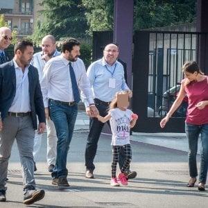 """Salvini al raduno della Lega. Appello ai sindaci: """"Sui migranti dite no, prima gli italiani"""""""