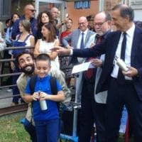 Dalla guerra in Siria al primo giorno di scuola a Milano: il sogno realizzato