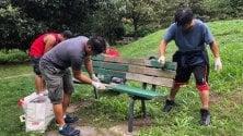Varese, la comunità filippina ringrazia la città pulendo il parco dopo le feste d'agosto