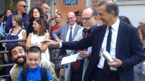Dalla guerra in Siria al primo giorno di scuola a Milano: il sogno realizzato di Charbel
