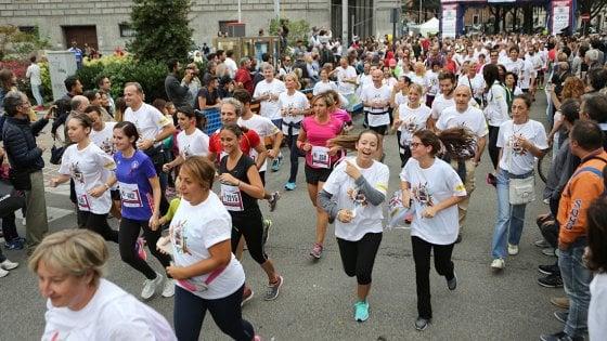 Milano, al parco Sempione si corre per sconfiggere l'Aids