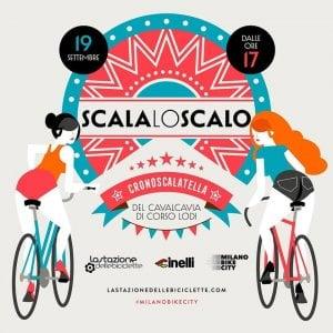 """Biciclette in festa in Corso Lodi, l'impresa della """"cronoscalata"""" al cavalcavia"""