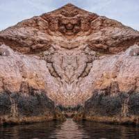 Milano, paesaggi naturali duplicati: le foto sembrano tavole del test di Rorschach