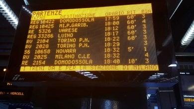 Guasto agli impanti di circolazione di Rfi  la stazione Garibaldi in tilt per un'ora