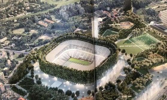 """Nuovo San Siro, presentati i progetti selezionati da Inter e Milan. Scaroni: """"Il Meazza ha fatto il suo tempo"""""""