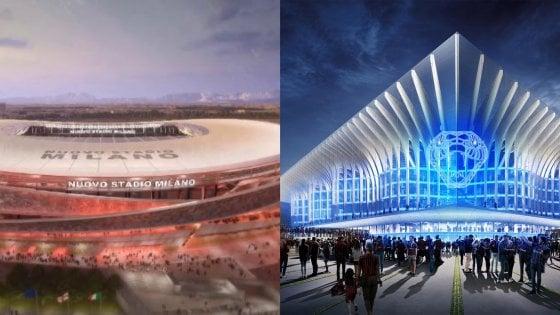 La Cattedrale o gli anelli incrociati: come sarà il nuovo stadio di San Siro?