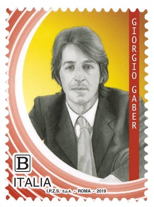 Il signor G sulle buste da lettera: un francobollo per celebrare Gaber, Dalla e Daniele