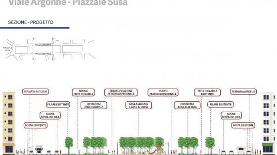 Una traccia verde da Linate al centro di Milano: alberi e mobilità dolce con la nuova linea Blu del metrò