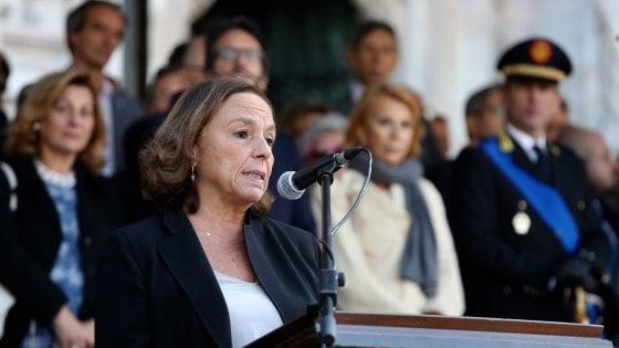 """Lamorgese a Milano: """"Impegno per cambiare la legge sulle polizie locali"""". E Sala dà il benvenuto a 44 nuovi ghisa"""