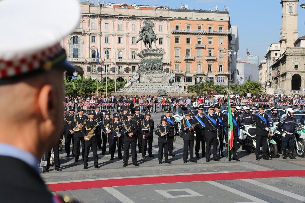 MIlano, le celebrazioni per il 159esimo anniversario della polizia locale