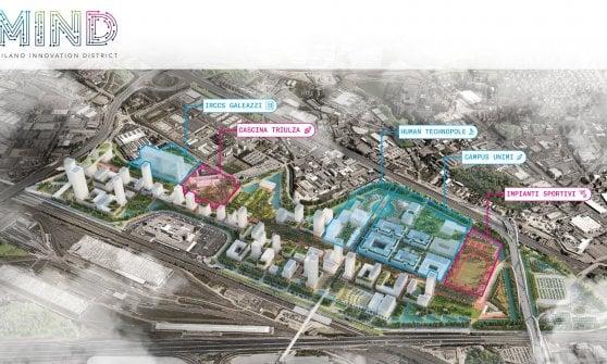Mind, parco scientifico ed eccellenze high-tech: via libera dalla giunta al piano per l'ex area Expo