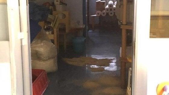 Milano, piove ancora nell'asilo nido: 59 bambini spostati per un mese in altre scuole