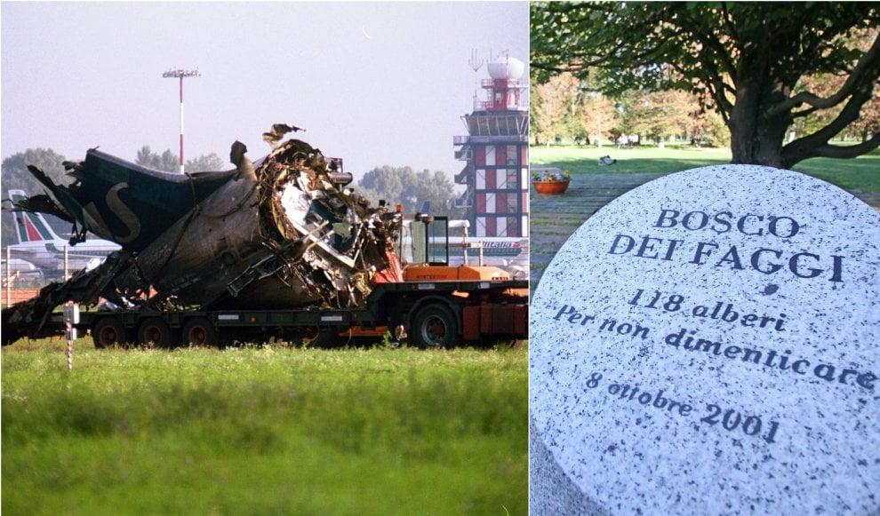 Strage di Linate: le immagini d'epoca della tragedia avvenuta 18 anni fa