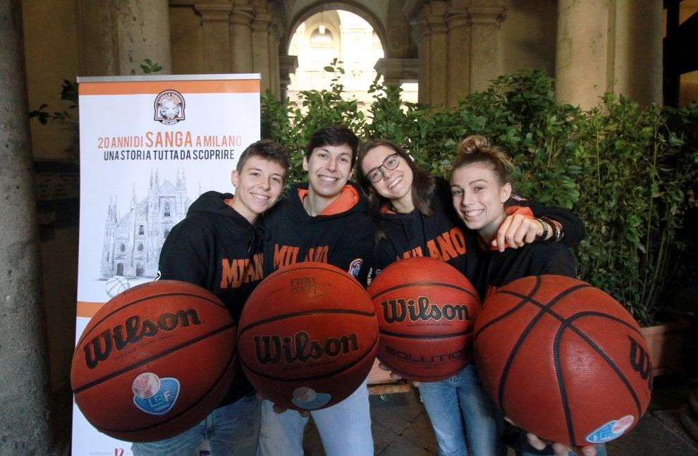 Il Sanga Basket compie vent'anni, festa a Palazzo Marino