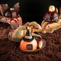 Milano: teschi, zucche e pipistrelli, i dolci di cioccolato di Knam per Halloween