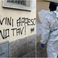 A Bergamo scritte contro Salvini sul muro: il sindaco Gori le fa cancellare