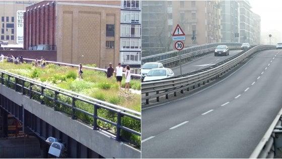 Il cavalcavia di Milano come la High Line di New York: la proposta bipartisan per uno spazio pedonale e ciclabile