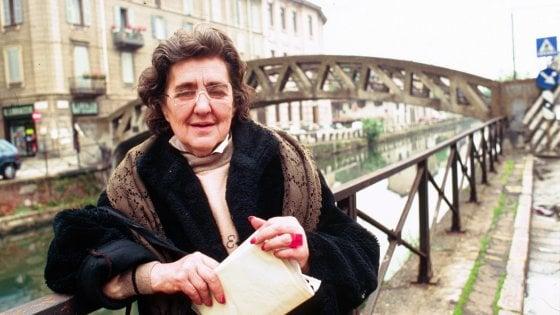 Alda Merini, a dieci anni dalla morte Milano le intitola il 'suo' ponte sul Naviglio Grande