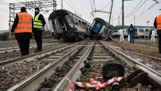 """Chiuse le indagini sul disastro ferroviario di Pioltello: """"Quel treno doveva viaggiare a 50 km orari, andava a 130"""""""