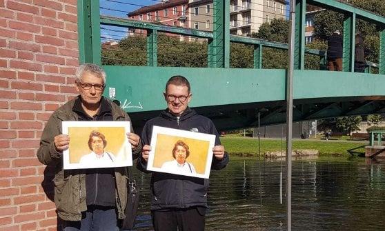 Il ponte sulla Darsena a Milano dedicato ad Alexander Langer