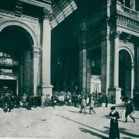 Un secolo di storia del Camparino in Galleria: le immagini d'epoca e i restauri
