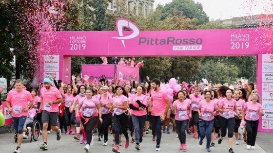 Il sostegno alla ricerca va di corsa: la PittaRosso Pink Parade raccoglie un milione di euro per la Fondazione Veronesi