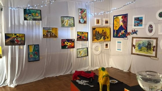Van Gogh e Picasso sono un gioco da bambini: le opere rivisitate dai piccoli di un asilo di Bergamo