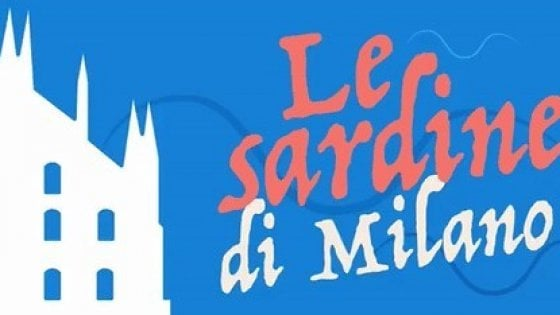 """Le """"sardine"""" nuotano fino a Milano: manifestazione il 1° dicembre"""