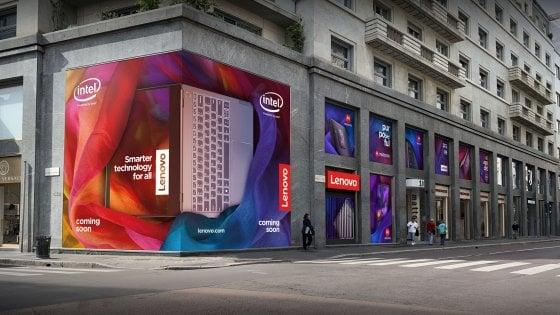 Lenovo, il colosso cinese dei pc apre a Milano il primo flagship store d'Europa