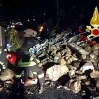 Cernobbio, frana sulla strada per il Monte Bisbino: isolata la frazione di Rovenna