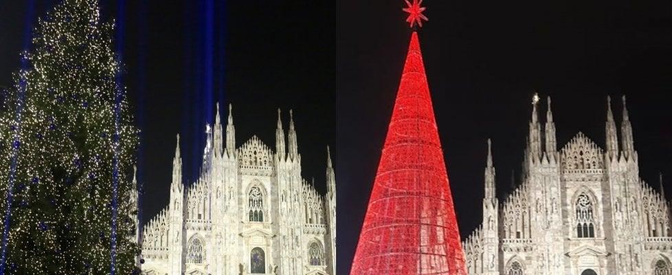 Moderno o tradizionale? Il sondaggio sull'albero di Natale di piazza Duomo a Milano