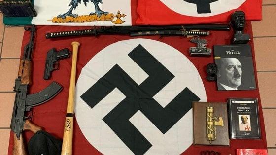Nuovo partito nazista, un altro arresto a Monza: in casa del 57enne trovate diverse armi