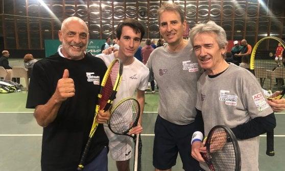 In campo per la ricerca: a Milano il Telethon tennis day con Massimiliano Allegri e Ettore Messina