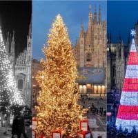 Dagli anni Settanta a oggi: come è cambiato l'albero di Natale di piazza Duomo a Milano