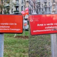 Vandalizzata a Milano la targa del giardino per Gianroberto Casaleggio, il figlio Davide:...