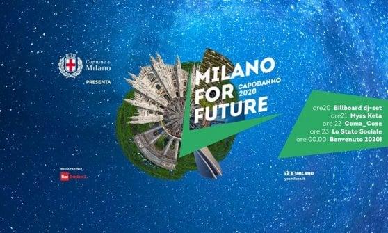 Miss Keta, Stato sociale e Coma_Cose per l'eco-Capodanno plastic-free di piazza Duomo a Milano