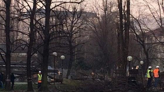 Via al taglio degli alberi al Politecnico, scatta la protesta dei residenti