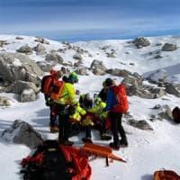 Incidenti in montagna, alpinista precipita e muore mentre scala il Pizzo della Neve nel Lecchese